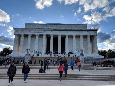 リンカーン記念像