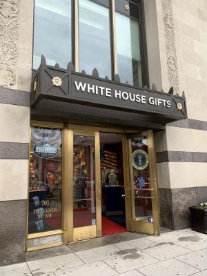 ホワイトハウス お土産屋さん