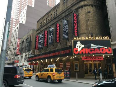 ニューヨーク弾丸旅行★ブロードウェイ、ミュージカル「シカゴ」