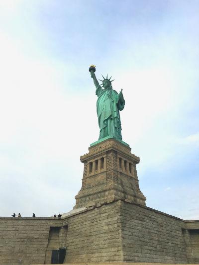 ニューヨーク弾丸旅行★自由の女神