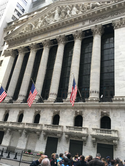 ニューヨーク弾丸旅行★ニューヨーク証券取引所