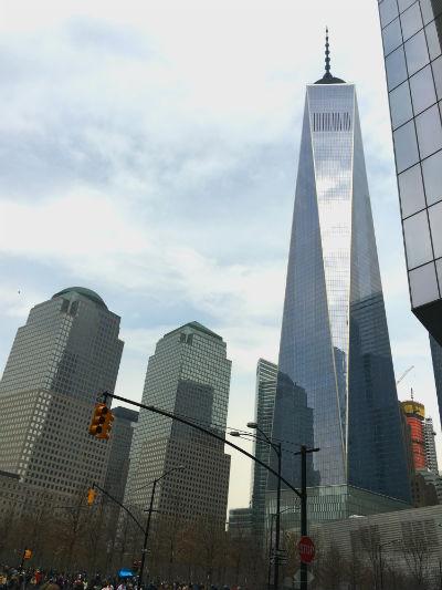 ニューヨーク弾丸旅行★ワンワールドトレードセンター