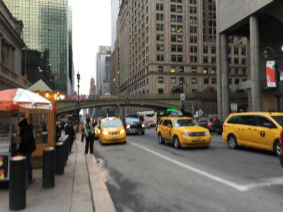 ニューヨーク弾丸旅行★タクシー、イエローキャブ