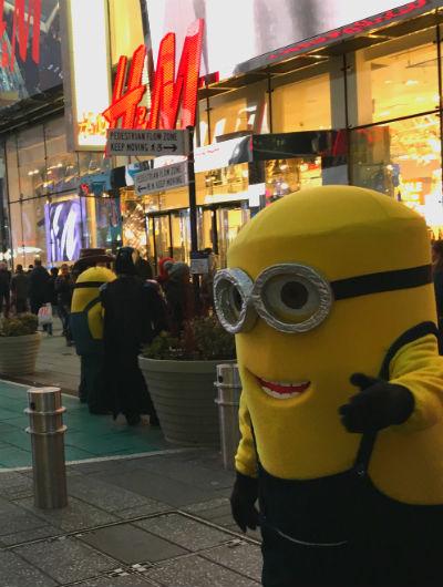 ニューヨーク弾丸旅行★タイムズスクエア