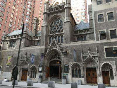 ニューヨーク弾丸旅行★タイムズスクエア-アクターズチャペル(教会)