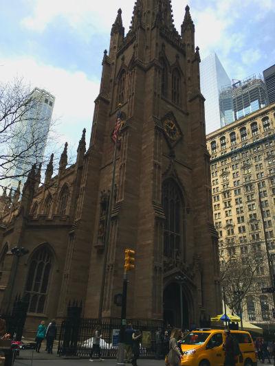 ニューヨーク弾丸旅行★ウォール街、トリニティ教会