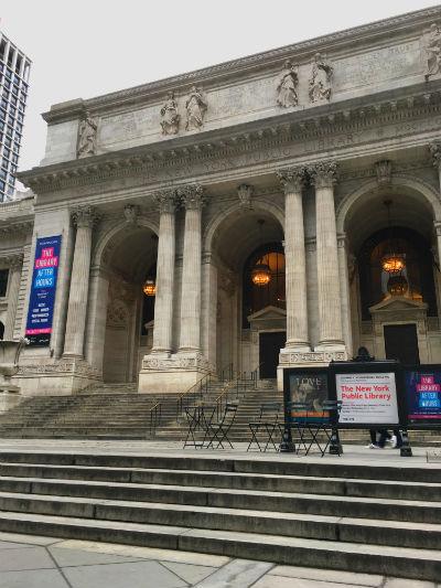 ニューヨーク弾丸旅行★ニューヨーク公共図書館
