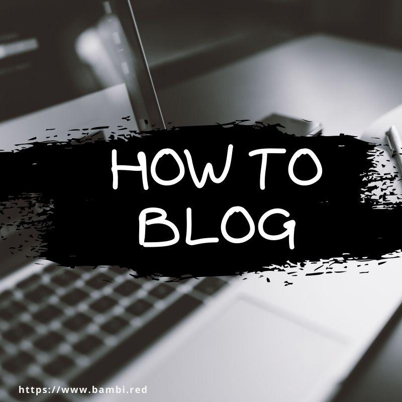 はてなブログの始め方