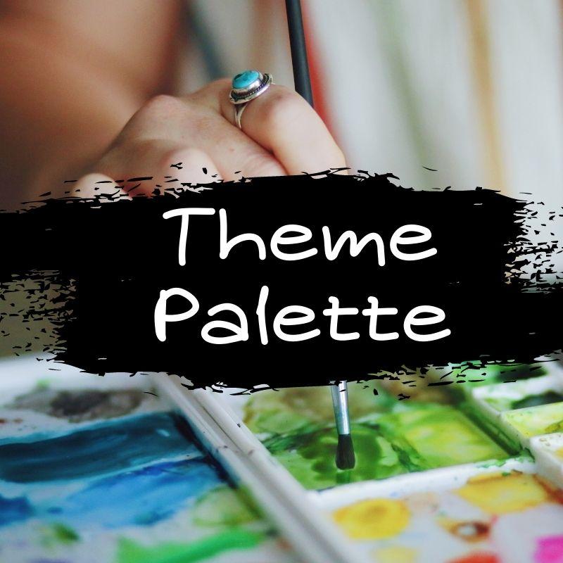 【はてなブログ】テーマ「Palette(パレット)」のカスタマイズ方法