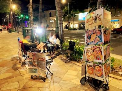 夜のワイキキのストリートパフォーマンスは何時まで楽しめる?