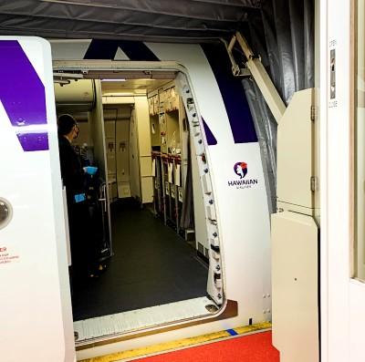 ハワイアン航空エコノミークラス搭乗記