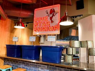 ワイキキFive Star Shrimp ファイブスターシュリンプ(ロイヤルハワイアンセンター)