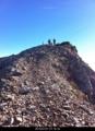杓子岳頂上