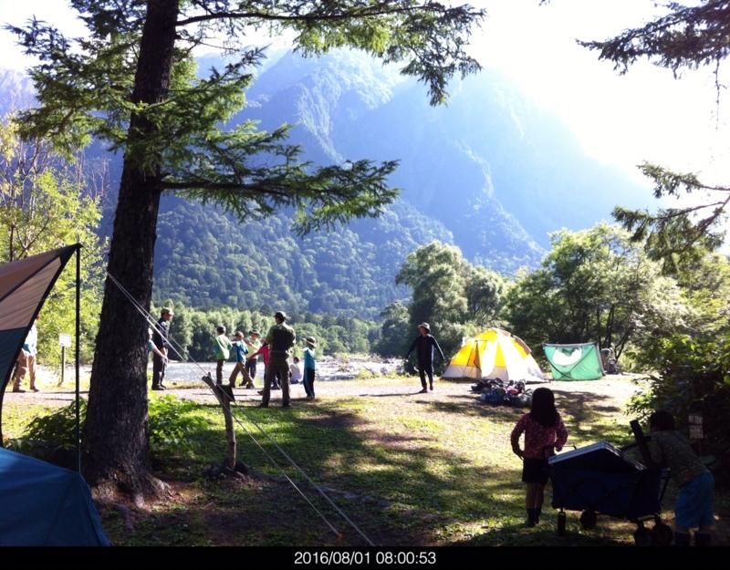 小梨平キャンプ