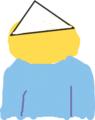 はてな三角巾部