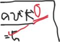 間違った答案のイメージ