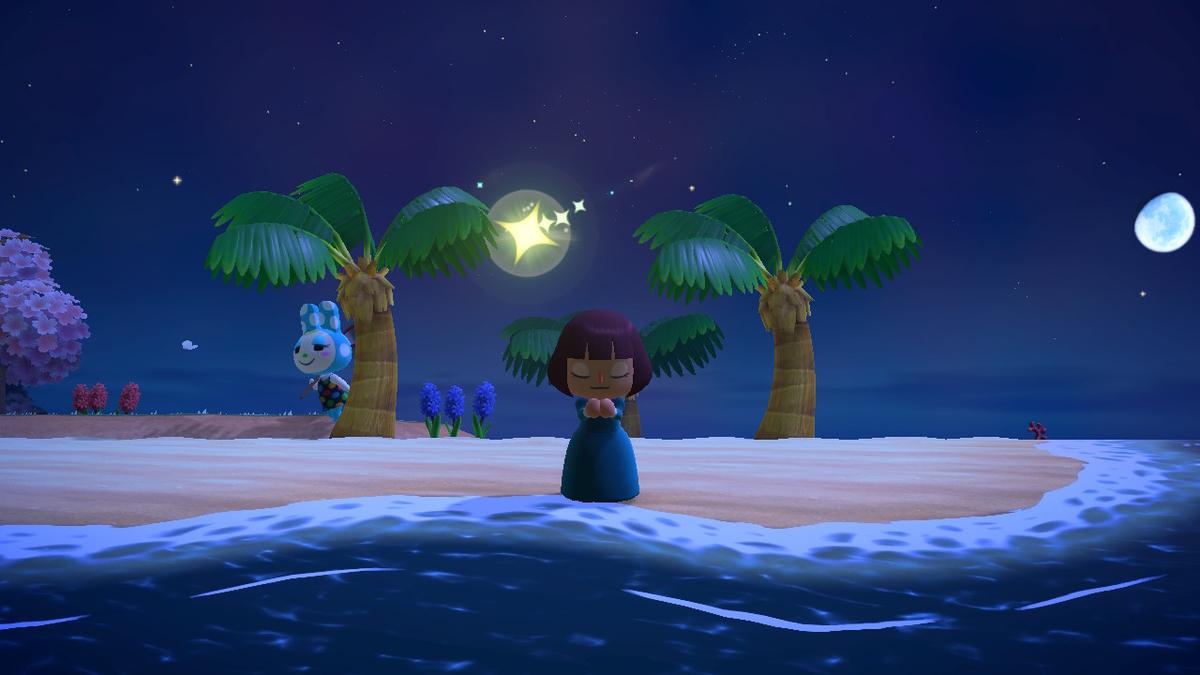 あつ森 流れ星 お祈りの仕方 流星群(流れ星)にお祈りする方法!星のかけらが貰える