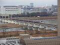 [昼景][鉄道]多摩川を渡る京王線