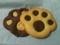 ニャンコの肉球クッキー