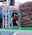 [仮面ライダー][キバ][ショー]まさかの司会のおねいさん格闘シーン