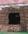 [仮面ライダー][キバ][ショー]逆さ吊りのキバフォーム再チェンジ登場