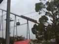 [仮面ライダー][キバ][ショー]9/21は酷い雨だがジェットコースターは結構動いてた