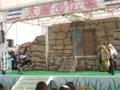 [仮面ライダー][キバ][ショー]ヒップアタックでよろけるキバ