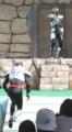 [仮面ライダー][キバ][ショー]ファンガイアがイクサを装着!