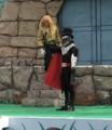 [仮面ライダー][キバ][ショー]実は登場時ファンガイアの二十面相に盗まれていたイクサナックル