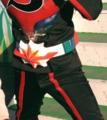 [仮面ライダー][キバ][ストロンガー][ショー]ストロンガーのベルトがボディにダメージを(笑)