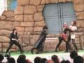 [仮面ライダー][ディケイド][キバ][龍騎][ショー]変身出来ずに全滅する龍騎系ライダーたち