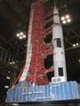 [GK]サターンロケットと発射台のペーパークラフト