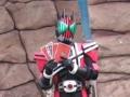 [仮面ライダー][ディケイド][キバ][剣][ショー]見事おともだちの選んだカードを当てた?