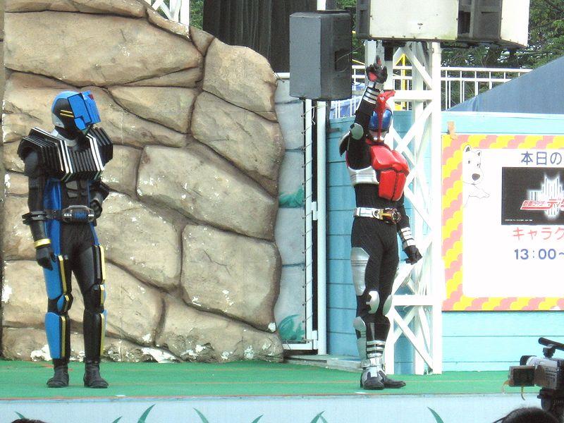 [仮面ライダー][ショー][ディケイド][キバ][カブト]