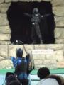 [仮面ライダー][ショー][ディケイド][キバ][カブト]子供達を襲うのはやめろ!