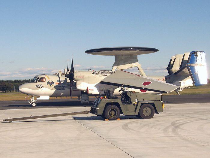 E-2Cホークアイ早期警戒機