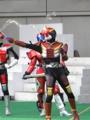 [仮面ライダー][W][電王][ショー]侑人のシャボン玉実演