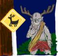 はてなハイカーさん、道路標識と男の子のイラストほしい!