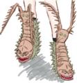 想像で語る怪獣ブーツ