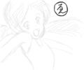 [プリキュア]ゑがをだけど わたし、かんにんぶくろの おがきれてます