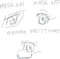 [プリキュア]キュアミューズの目が別人にしか見えない件