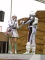 [仮面ライダー][フォーゼ][ショー]おかたづけは司会のおねいさんに丸投げするフォーゼ