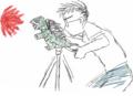 カメラをガメラに変えて火炎放射