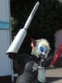 [ショー]サーベル装備しても芸人ノリなマグマ星人
