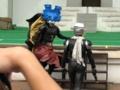 [仮面ライダー][W][ショー]テラードーパントvs仮面ライダースカル